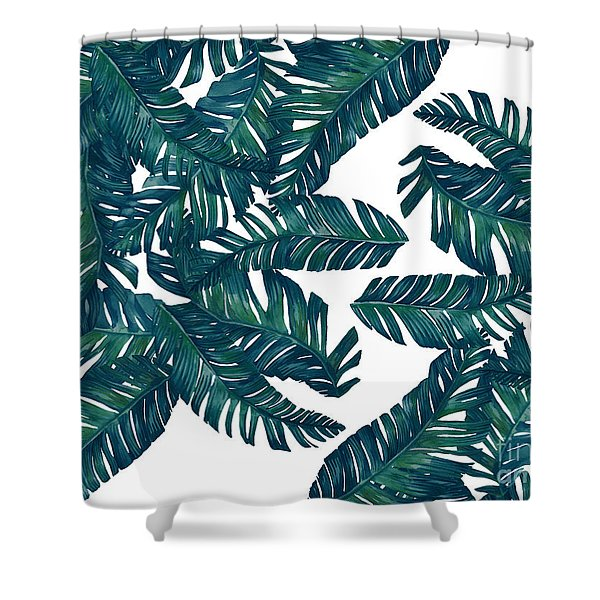 Palm Tree 7 Shower Curtain