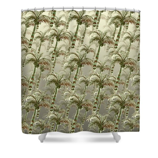 Palm Tree Grove Shower Curtain