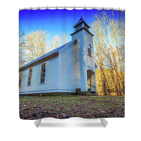 Palmer Chapel Methodist Church Shower Curtain