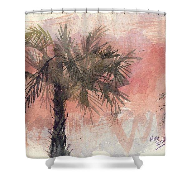 Palmettos Shower Curtain