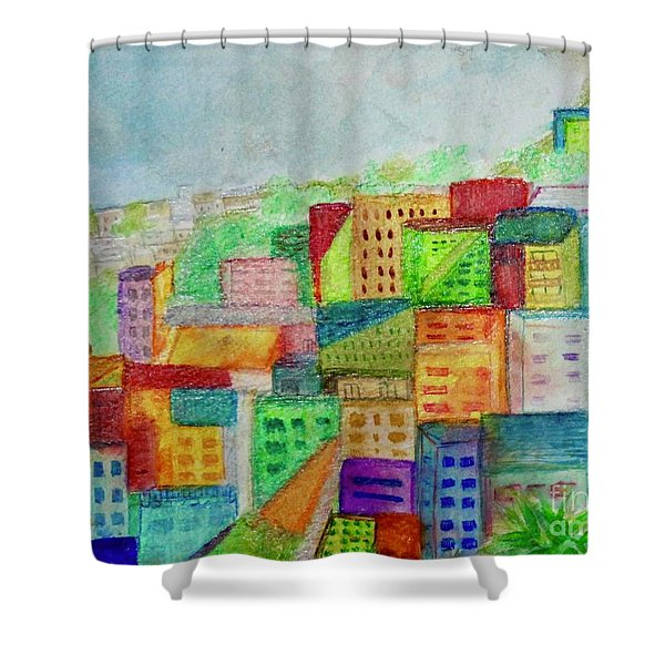 Palmitas Shower Curtain