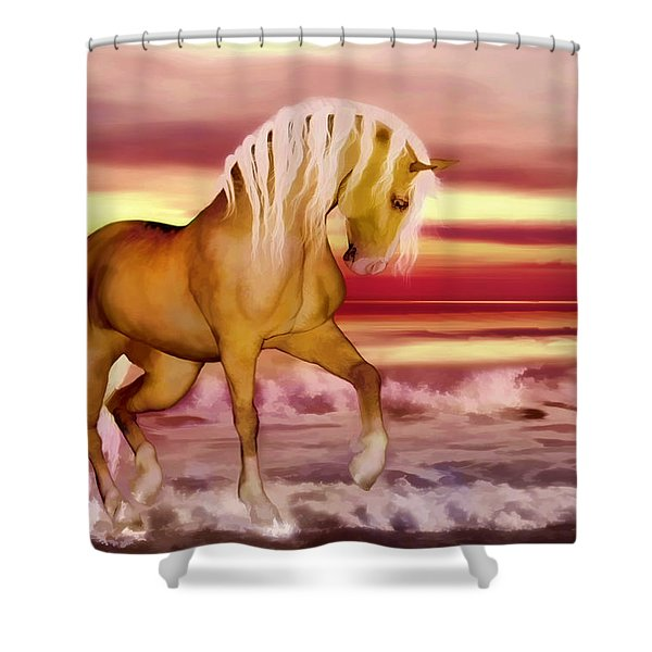Palomino Shower Curtain