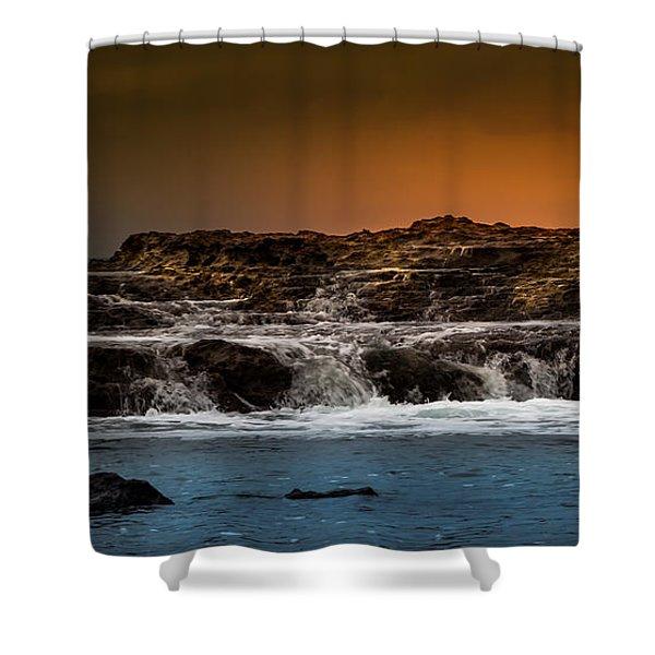 Palos Verdes Coast Shower Curtain