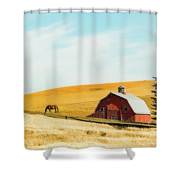 Palouse 16 Shower Curtain