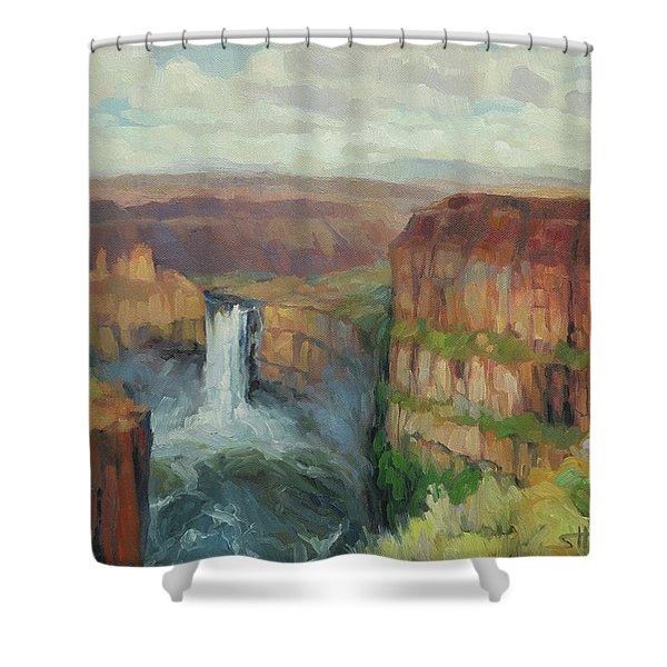 Palouse Falls  Shower Curtain