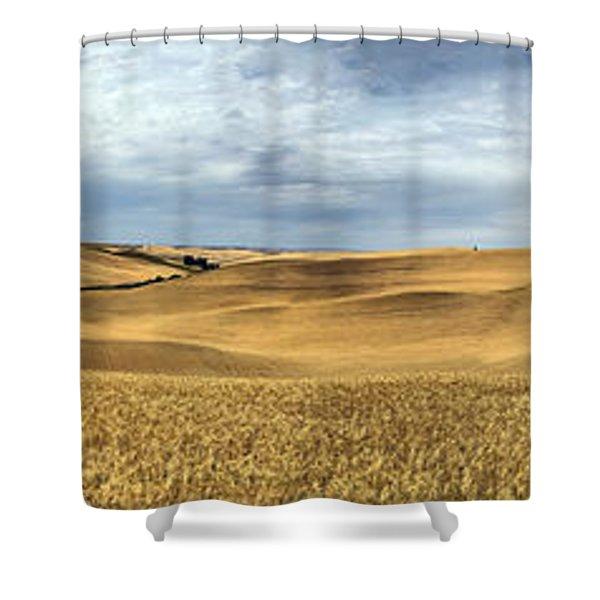 Palouse Panorama Shower Curtain