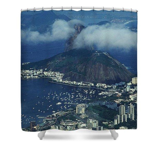 Pan De Azucar - Rio De Janeiro Shower Curtain