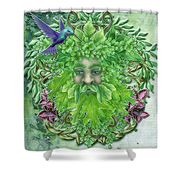 Pan The Protector Shower Curtain