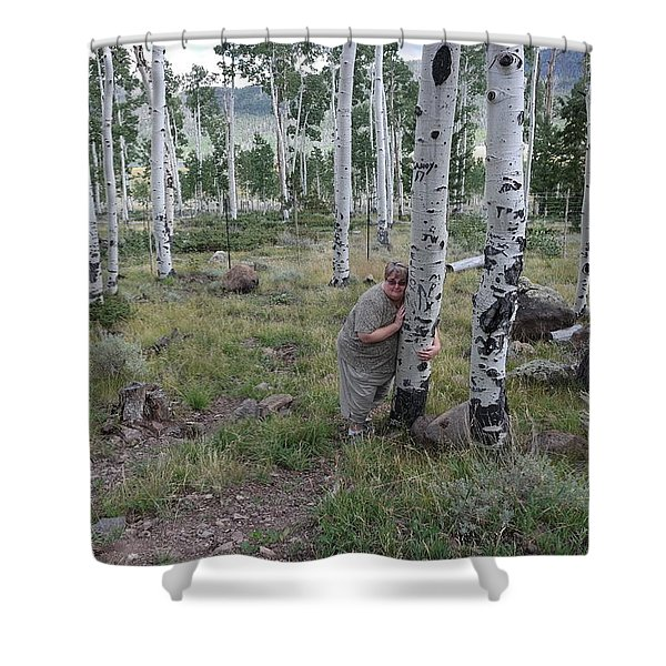 Pando  Shower Curtain