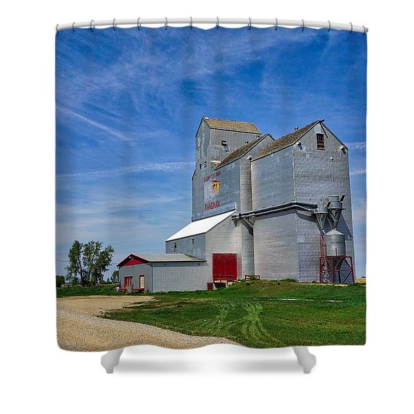 Pangman Elevator Shower Curtain
