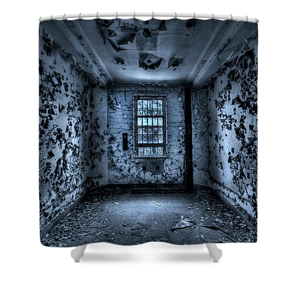 Panic Room Shower Curtain