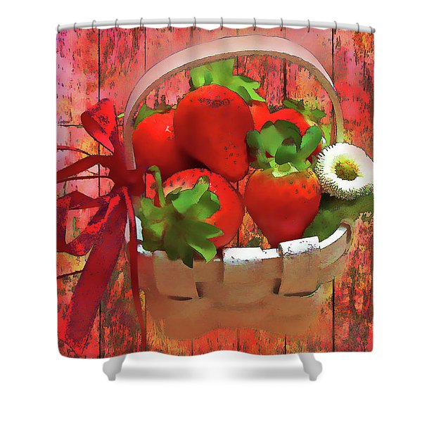Panier De Baies 2017 Shower Curtain
