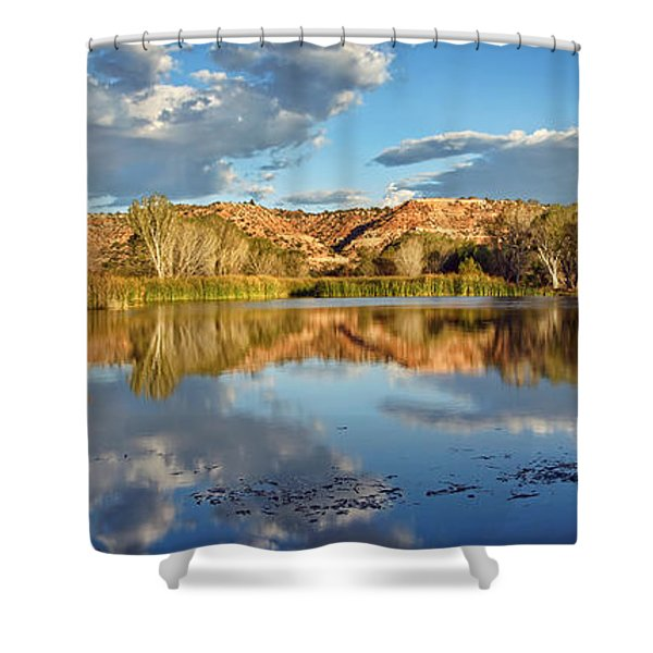 Panoramic Reflections Shower Curtain