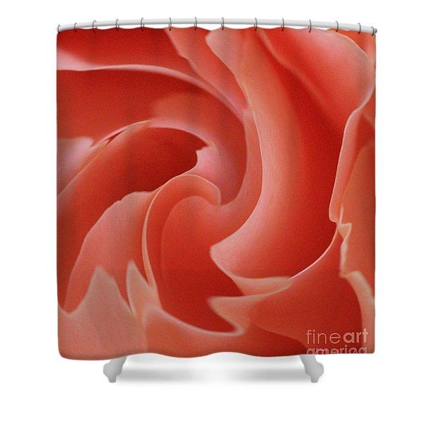Paper Petals Shower Curtain