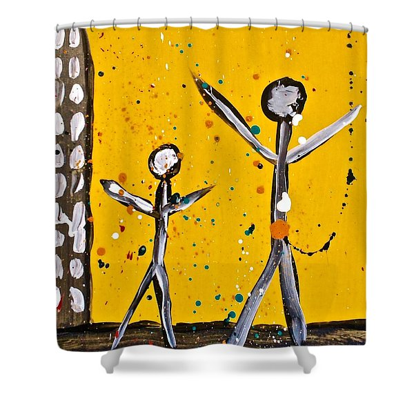 Parades 1 Shower Curtain