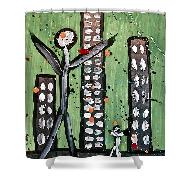 Parades 8 Shower Curtain