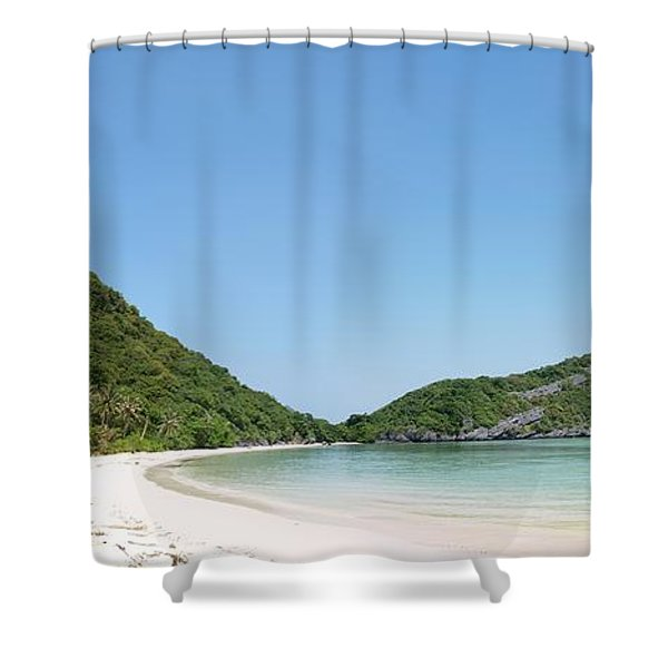 Paradise Island Shower Curtain