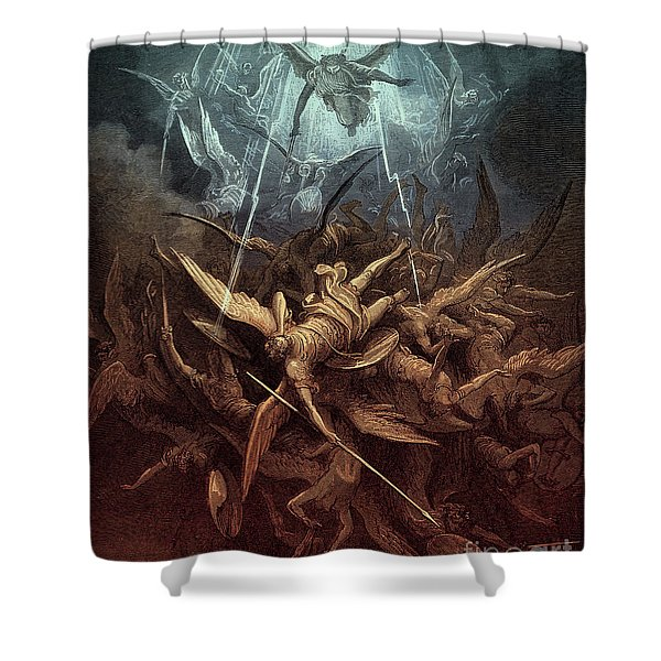 Paradise Lost,  Fall Of The Rebel Angels, Shower Curtain
