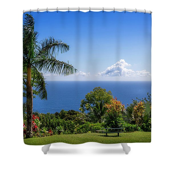 Paradise Picnic Shower Curtain