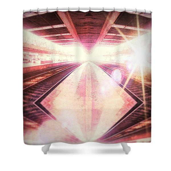 Parallel To It Shower Curtain