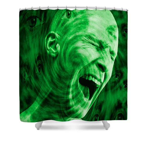 Paranoid Personality Disorder Shower Curtain
