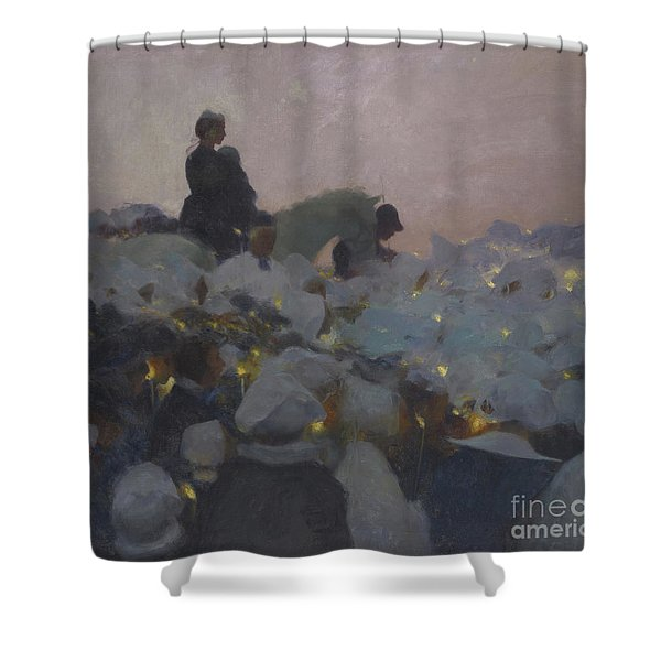 Pardon In Brittany Shower Curtain