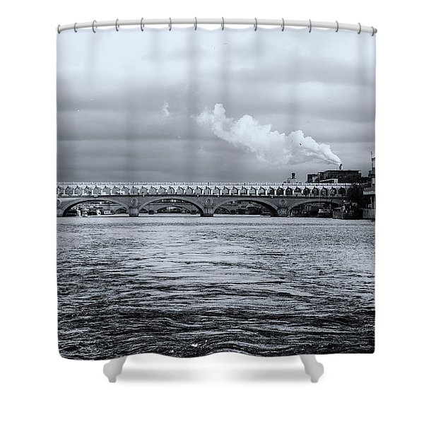 Paris 1 Shower Curtain