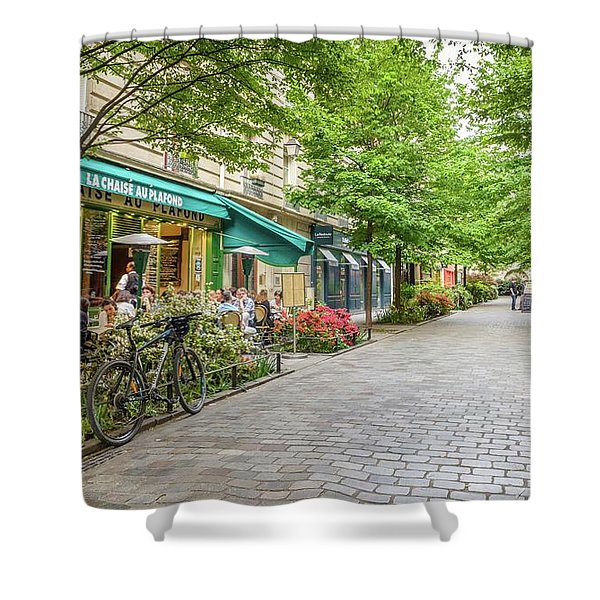 Paris In The Spring  Shower Curtain