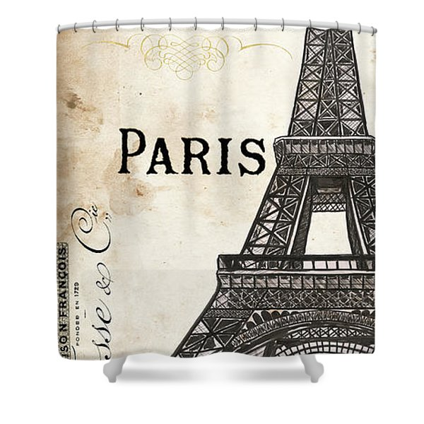 Paris, Ooh La La 1 Shower Curtain