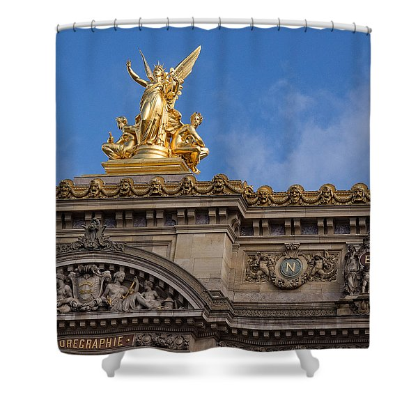 Paris Opera - Harmony Shower Curtain