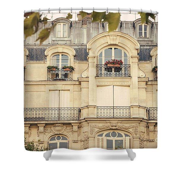 Parisian Home Shower Curtain