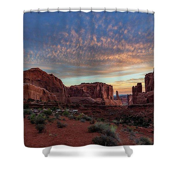 Park Avenue Sunrise Shower Curtain