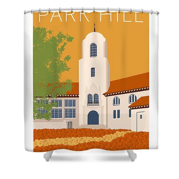 Park Hill Gold Shower Curtain