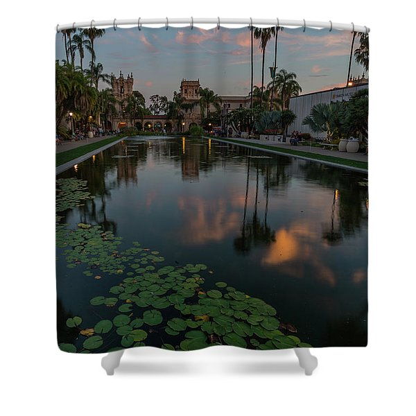 Park Place Saturday Night Shower Curtain