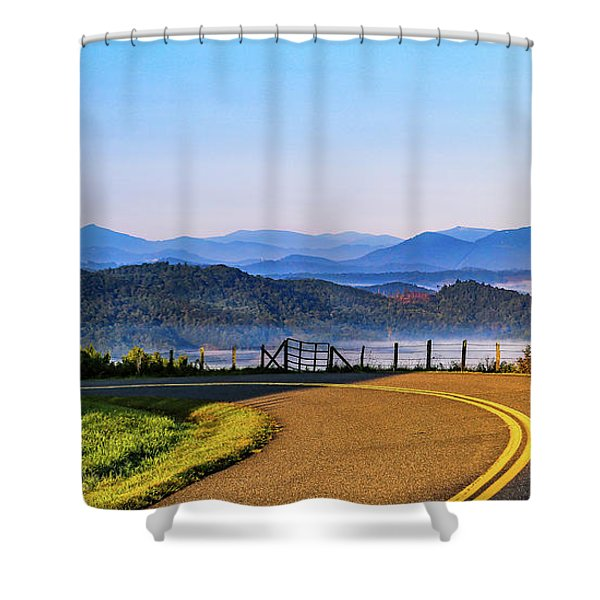 Parkway Morning Vista Shower Curtain