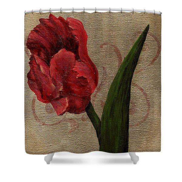 Parrot Tulip I Shower Curtain