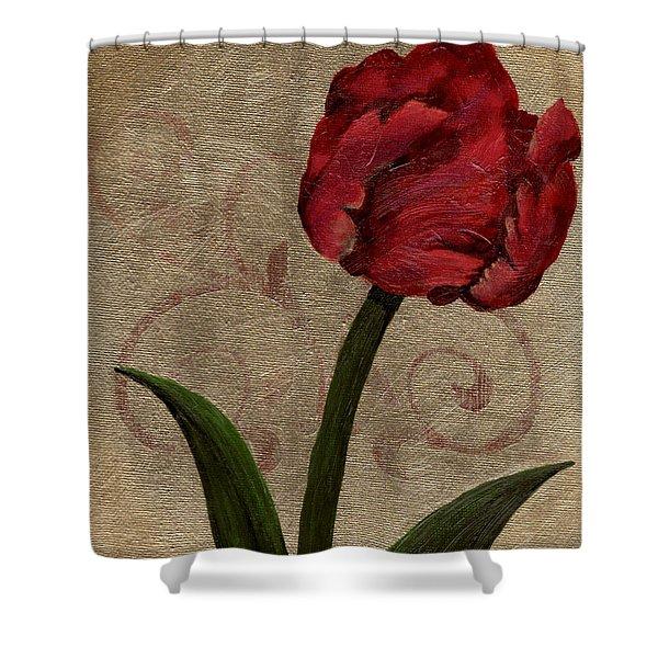 Parrot Tulip II Shower Curtain