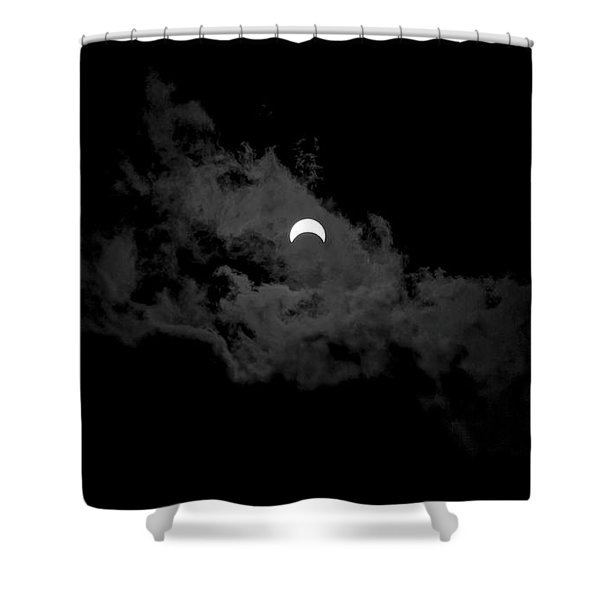 Partial Eclipse Shower Curtain