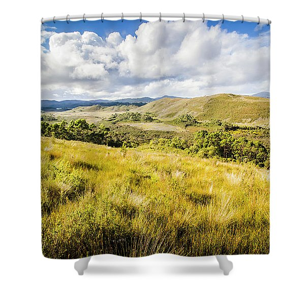 Parting Creek Regional Reserve Tasmania Shower Curtain
