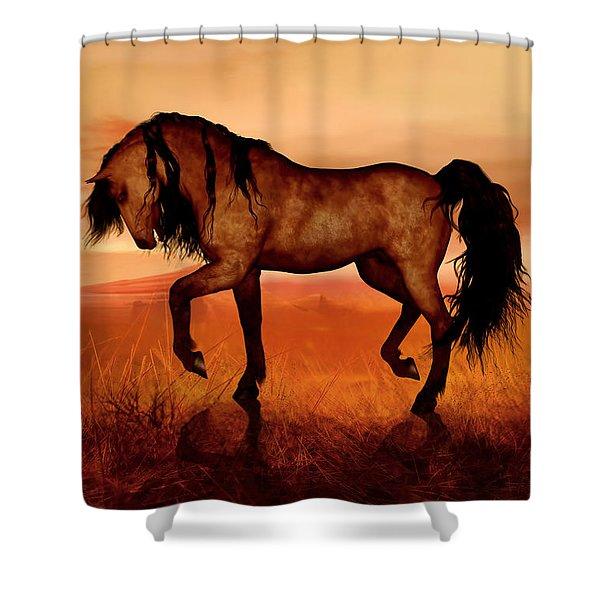 Paso Fino Shower Curtain