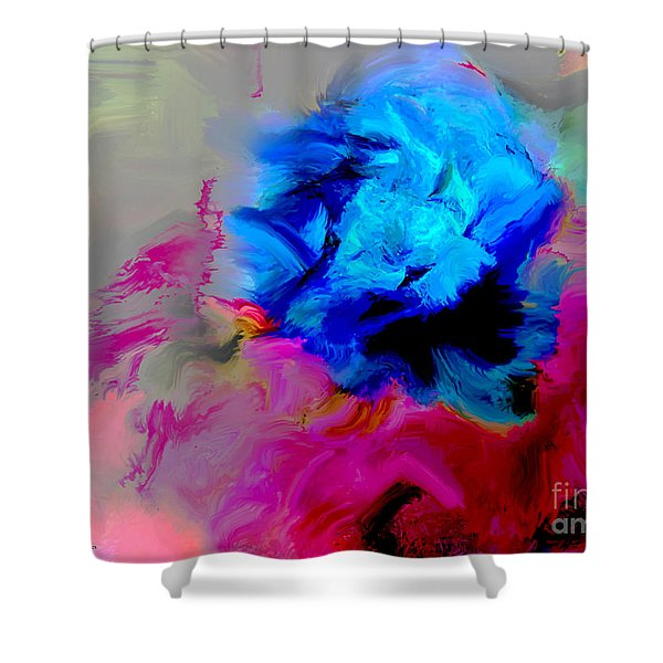 Pasodoble Shower Curtain