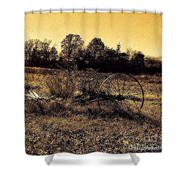 Past It's Time Shower Curtain