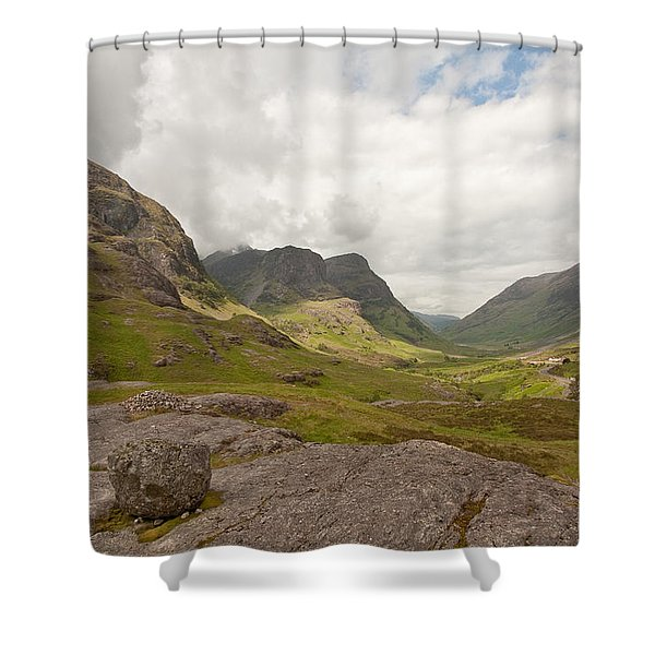 Pass Of Glencoe Shower Curtain