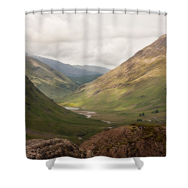 Pass Of Glencoe II Shower Curtain