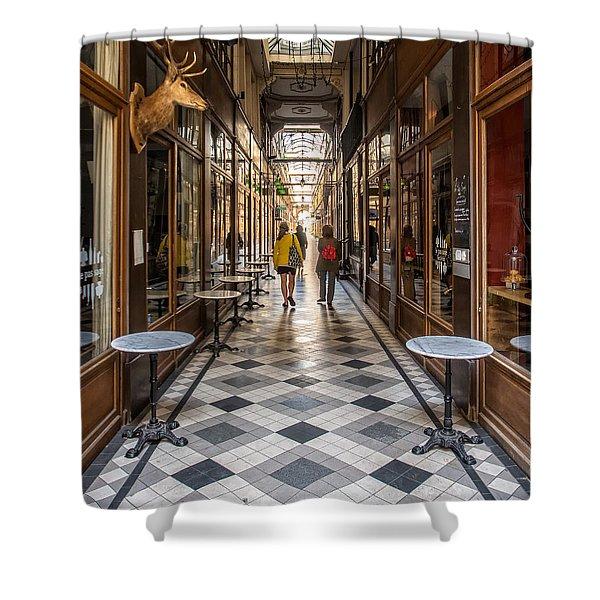 Passage Du Grand Cerf Shower Curtain
