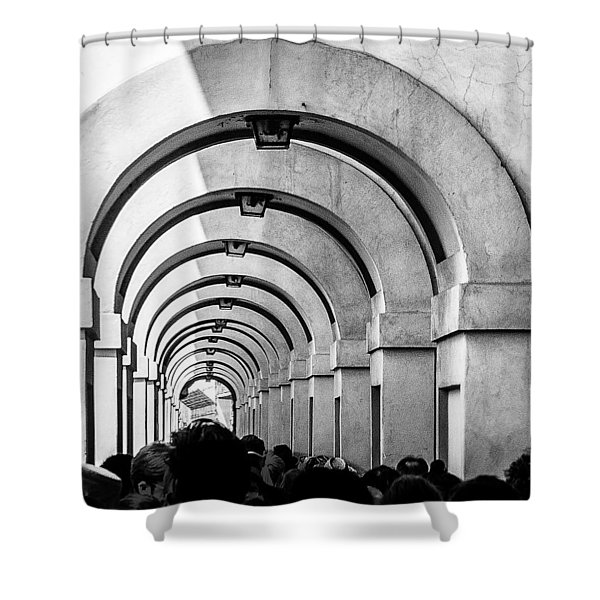 Passageway At The Arno Shower Curtain