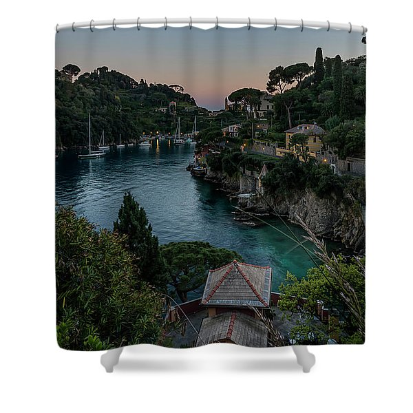 Portofino Bay Shower Curtain