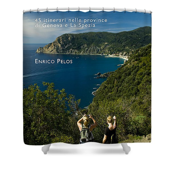 Passeggiate A Levante - The Book By Enrico Pelos Shower Curtain