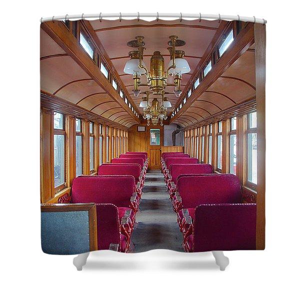 Passenger Travel Shower Curtain