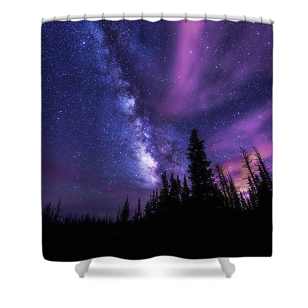 Passing Hours Shower Curtain